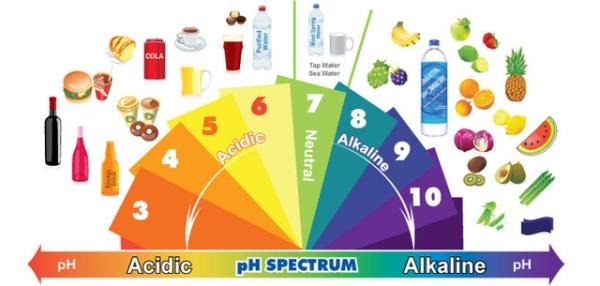 chế độ ăn kiềm tính tốt cho sức khoẻ