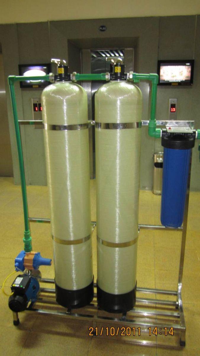 hệ thống lọc nước đầu nguồn DN02 do Ohido thiết kế